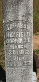 Profile photo:  Abraham Brownley Mayfield