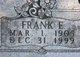 Frank Edward Greene