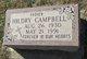 Hildry Campbell