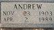 Profile photo:  Mace Andrew Johnson