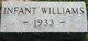 Infant Williams