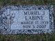 Muriel J LaBine