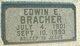 Edwin Edward Bracher
