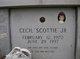 """Profile photo:  Cecil """"Scottie"""" Scott, Jr"""