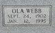 Ola <I>Webb</I> Anderson