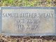 Samuel Luther Shealy