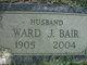 "Profile photo:  Ward Jacob ""Cub"" Bair Sr."