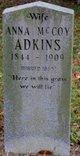 Anna Elizabeth <I>McCoy</I> Adkins