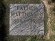 """Matthias John """"Matthew"""" Bovy, Jr"""