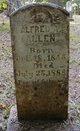 Profile photo:  Alfred A. Allen