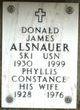 Profile photo:  Donald James Alsnauer