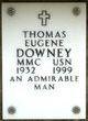 Profile photo:  Thomas Eugene Downey