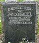 Christina <I>Stewart</I> Cossey