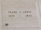Frank A Lewis