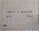 Christ C Pearson