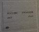 Maxine <I>Maulsby</I> Swanson