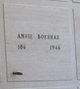 Annie <I>Strahl</I> Boeshar