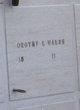 Dorothy L Walsh