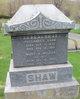 Mary Ann <I>Wilcox</I> Shaw