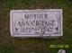 Anna Belle <I>Shaffer</I> Page