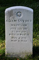 Profile photo: Pvt Adam Snyder