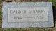 Calder E. Barry
