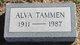 Profile photo:  Alva Tammen