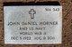 """John Daniel """"Jack"""" Horner"""