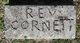 Profile photo: Rev Cornett
