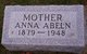 Profile photo:  Anna <I>Luthmers</I> Abeln