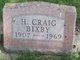 "Profile photo:  Harold Craig ""Craig"" Bixby"