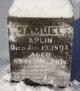 Profile photo:  Samuel Aplin