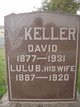 Profile photo:  Lulu Belle <I>Koffel</I> Keller