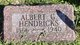 Profile photo:  Albert G Hendricks