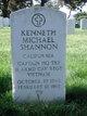 Capt Kenneth Michael Shannon