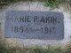 Marie P Akins
