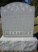 Profile photo:  Amanda <I>Wills</I> Alexander
