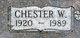 Chester Wayne Elliott