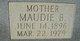 Maudie B Howard