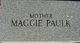 Maggie <I>Shiver</I> Paulk