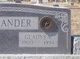 Gladys Virginia <I>Dotson</I> Alexander