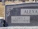 Lewis Edwin Alexander
