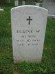 Profile photo:  Elaine E <I>Wright</I> Cassell