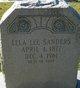 Lela Lee <I>Yates</I> Sanders