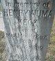 Henry Numa Keck