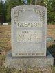 Mary A. <I>Burks</I> Gleason