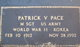 Patrick Vernon Pace