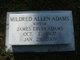 Mildred Garner <I>Allen</I> Adams