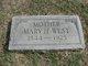 Mary H. <I>Patrick</I> West