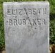 Elizabeth <I>Fouts</I> Brubaker